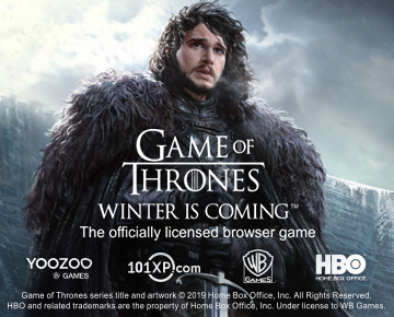 Game of Thrones is now on 101XP.com!
